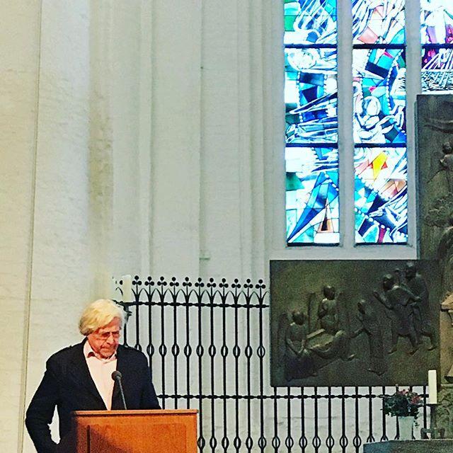 Kunst, Offenbarung, Theologie #bazonbrock #hauptkirchestkatharinen #heinekomm