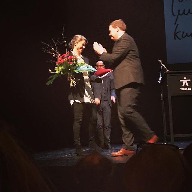 Lessing-Preis für Juliane Rebentisch #julianerebentisch #carstenbrosda #freeminds #heinekomm