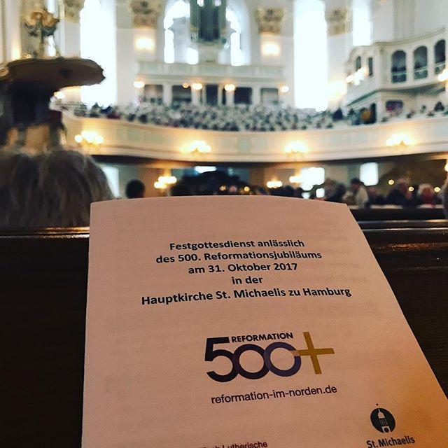 Reformationsjubiläum im Michel #martinstage #heinekomm
