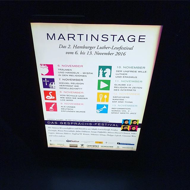 The Festival of Enlightenment #martinstage #mt2016 #heinekomm