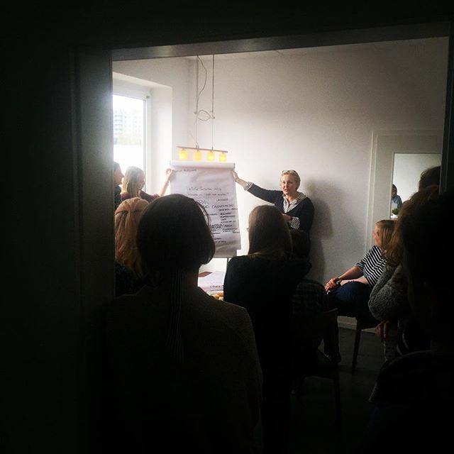 Wir hatten Besuch: 25 Studentinnen und Studenten der Universität Hamburg haben bei uns ein
