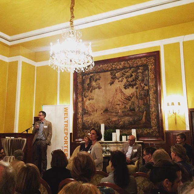 Ausgeschlossen - Buch-Präsentation der Weltreporter in #köln #weltreporterforum2018 #koelnerstadtanzeiger #koelnerpresseclub #dva #bookstagram #heinekomm