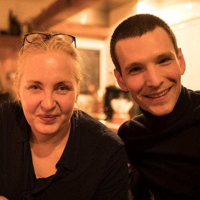 Aftershow in Konau mit @sabintambrea #deutscheshaus #annettehess #sabintambrea #konau25 #dernordenliest #dernordenliest2018 #heinekomm