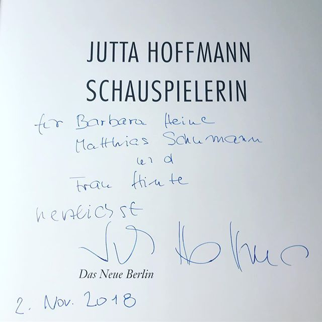 Back in Office #juttahoffmann #grandedame #heinekomm