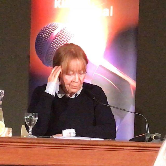 Jutta Hoffmann liest Brigitte Reimann #juttahoffmann #grandedame #brigittereimann #bookstagram #dernordenliest2018 #ndrkulturjournal #heinekomm