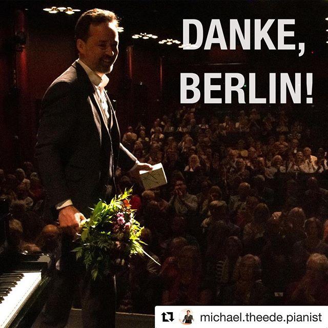 #Repost @michael.theede.pianist with @get_repost ・・・ Was soll man noch mehr sagen! #michaeltheedespieltudojürgens #schlossparktheater #prerelease #pianoplayer #steinwayd #grandpiano
