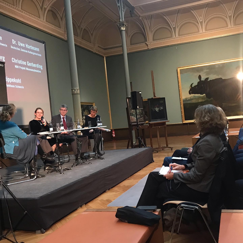 Mit den Museumsdetektiven in Schwerin #museumsdetektive #restitution #provenienzforschung #ndrkulturjournal #heinekomm