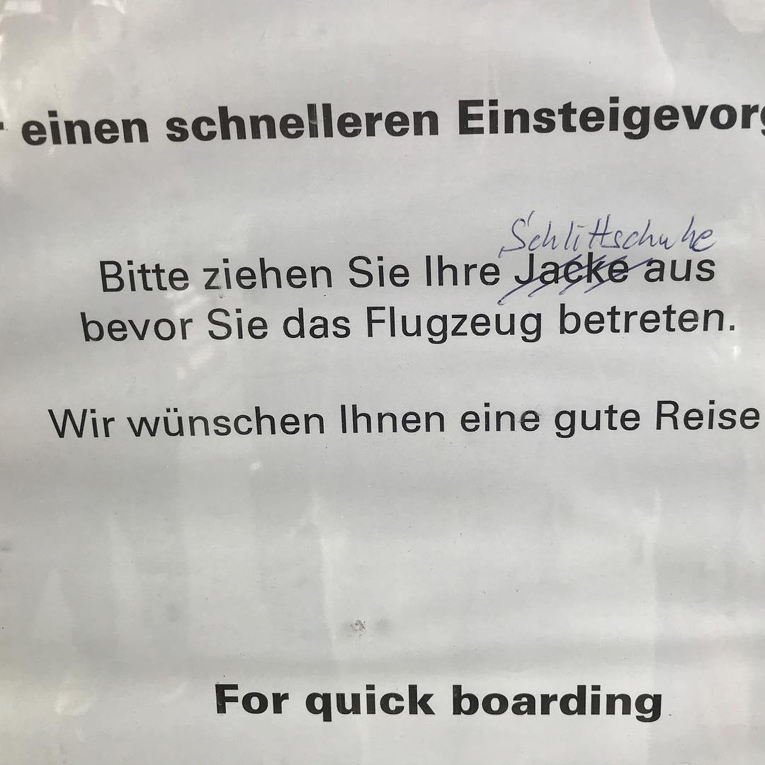Boarding for Augsburg. #martinstageaugsburg2017 #heinekomm