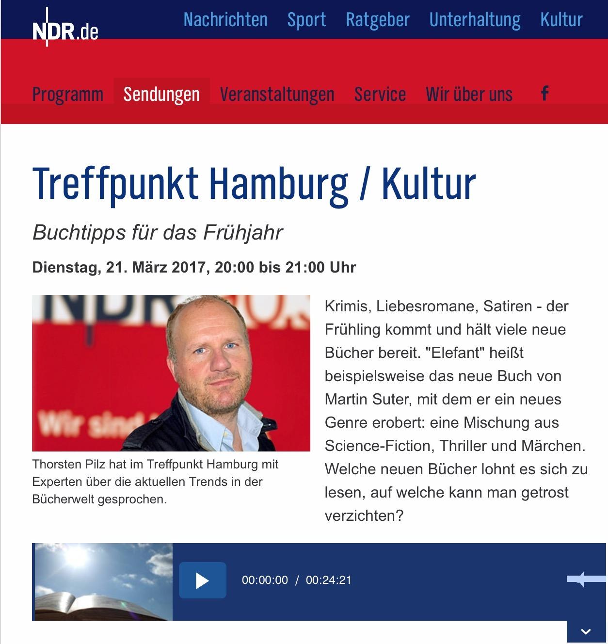 Buchtipps zum Frühjahr – jetzt die komplette Leseliste von @Harald Butz und @Barbara Heine: https://www.ndr.de/903/sendungen/treffpunkt_hamburg/Buchtipps-fuer-Fruehjahr,sendung625242.html #ndr #ndr903 #treffpunkthamburg #kultur #heinekomm