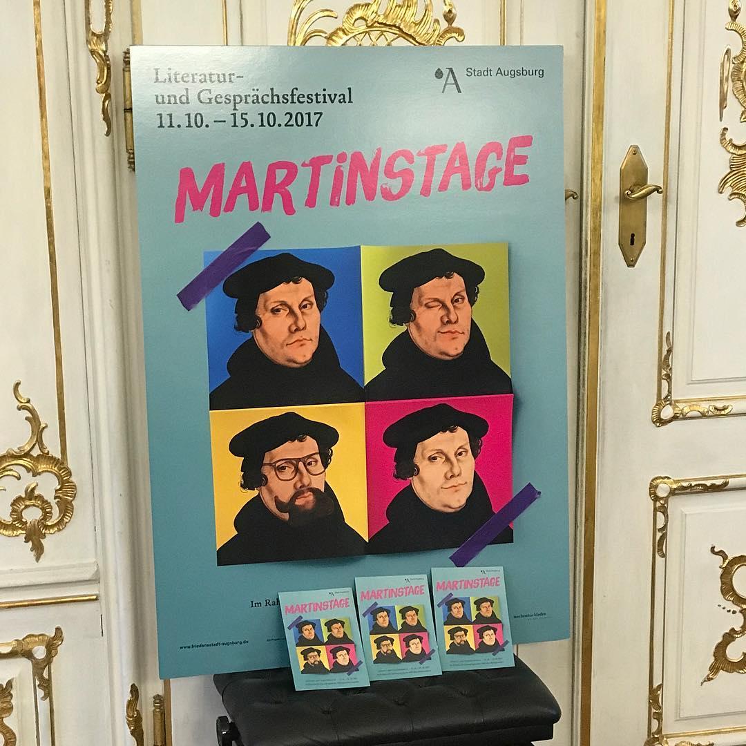 Here we Go in Augsburg! #martinstageaugsburg2017 #heinekomm