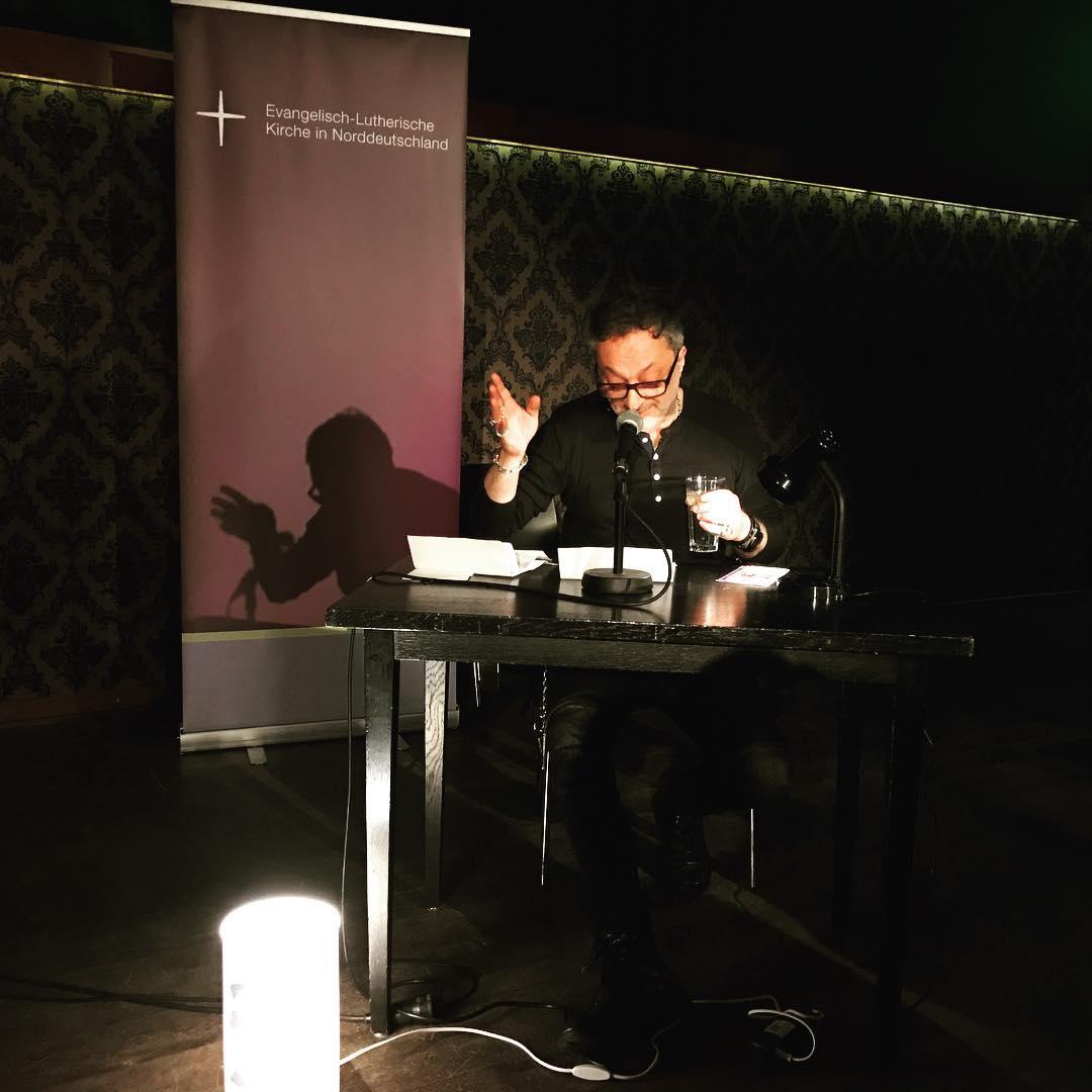Martinstage, 4. Abend - #feridunzaimoglu liest aus seinem noch unveröffentlichten Lutherbuch #martinstage #mt2016 #heinekomm
