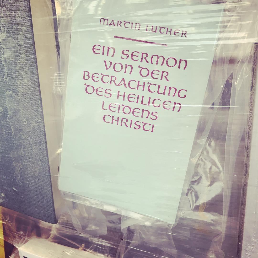 Meeting Luther @documenta14 #martinstage2017 #heinekomm